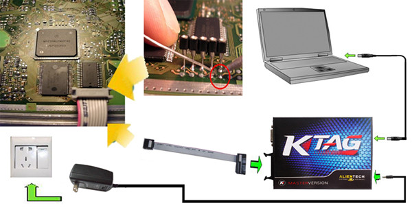 KTAG Connection Picture Display - 01