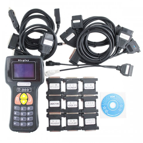 T300 key programmer English v13.1 Free Shipping by DHL