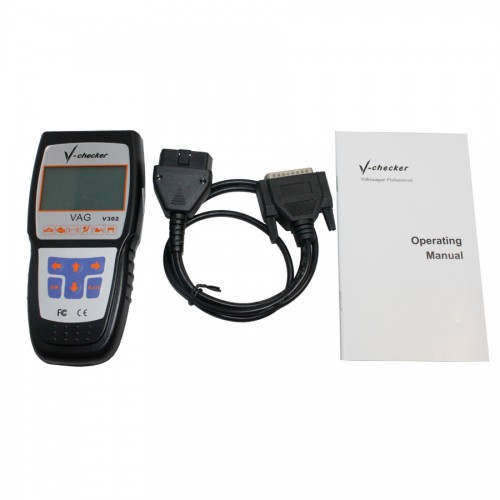 V-CHECKER V302 V-A-G  CANBUS Code Reader Russia language