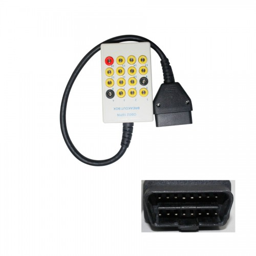 OBD2 16PIN BREAKOUT BOX Free shipping
