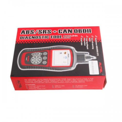 [Ship from UK] Autel AutoLink AL619 OBDII CAN ABS and SRS Scan Tool Update Online