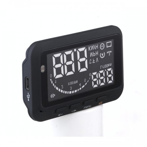 Car Head Up Display Vehicle-Mounted HUD Overspeed Warning OBD2 System F02 On Sale