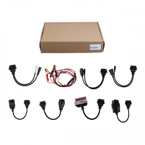 (Free Shipping) Whole Set Car Cables Plus 3 in 1 For TCS/Diagtool