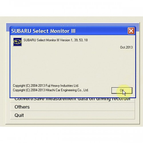V2013.10 For SUBARU SSM-III Software Update Package for VXDIAG Multi Diagnostic Tool Multi-language