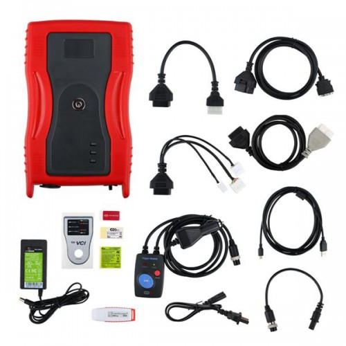 GDS VCI for KIA & HYUNDAI (RED) with Trigger Module Firmware V2.02 Software Hyunday V19 Kia V15