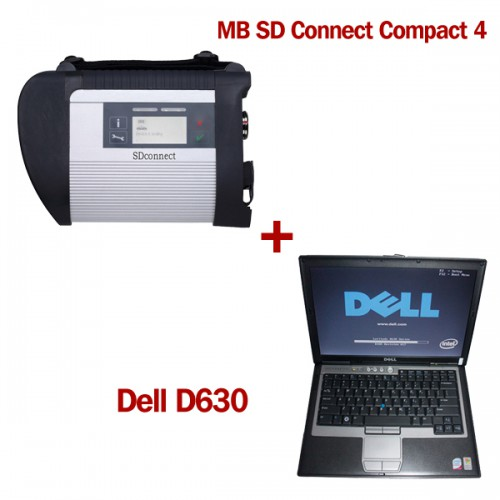(Direct Use) V2018.12 HDD MB SD C4 SD Connect C4 with WIFI and 2012.11 HDD Support Offline Programming Plus DELL D630 4GB Laptop