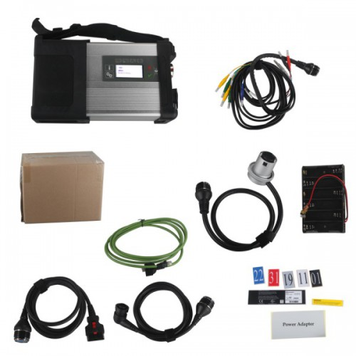 Latest 2018.12V MB SD C5 sd connect compact 5 (SD C4) Star Diagnosis with WIFI for Cars&Trucks Support Multi-Langauge