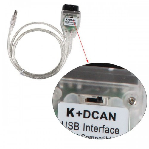 (Ship from UK/EU) New For BMW INPA K+DCAN With FT232RQ Chip with Switch