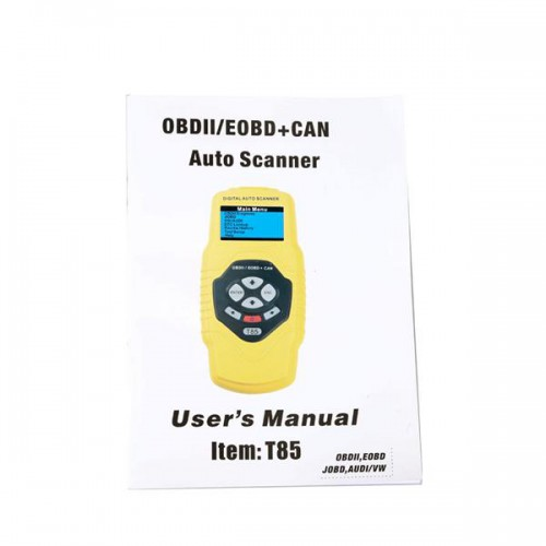 (Free Shipping No Tax) QUICKLYNKS T85 OBDII/EOBD/JOBD Auto Scanner for Audi/VW and Japanese Cars