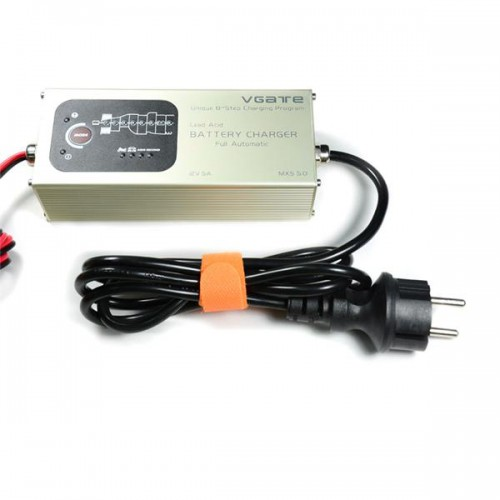 Vgate MXS 5.0 Fully Automatic 12V 5A Smart Lead Acid Battery Charger with Temperature Compensation Car MXS 5.0