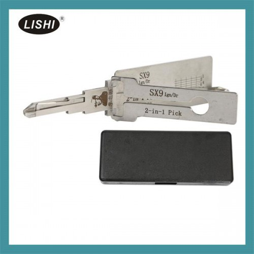 LISHI SX9 2 in 1 Auto Pick and Decoder