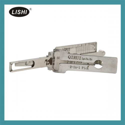 LISHI 2 in 1 Auto Pick and Decoder for QIRUI E3 and Huai River