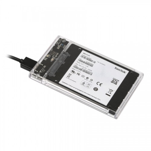 ORICO 2139U3 Hard Drive Enclosure 2.5 inch Transparent USB3.0 Support UASP Protocol