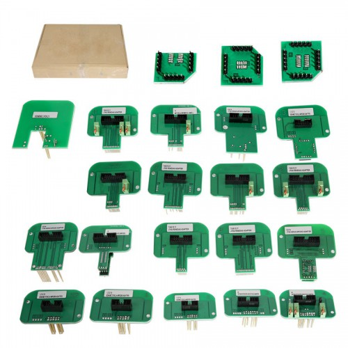 (Ship from UK) KTAG KESS KTM Dimsport BDM Probe Adapters Full Set (Denso, Marelli, Bosch, Siemens) with 22 BDM Adapters