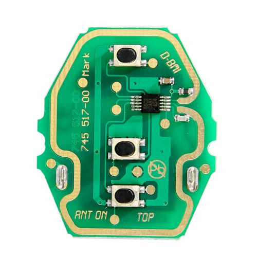 For BMW 3 Buttons Remote Key Board 433MHZ (without Key Shell)