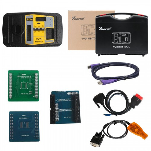 Buy Xhorse VVDI MB TOOL Get Free 4pcs ELV Emulator for Benz 204 207 212 Free Shipping
