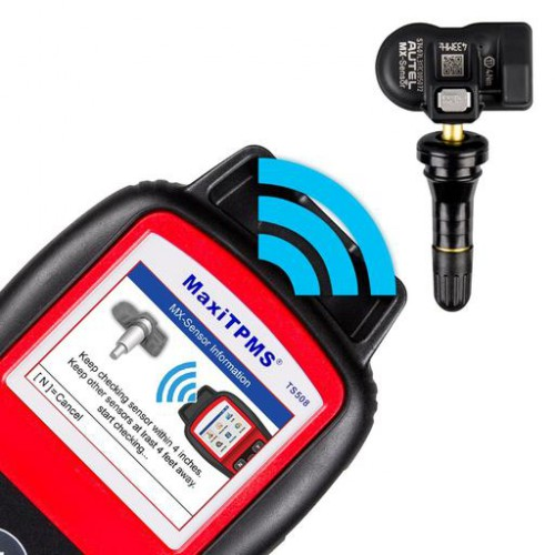 100% Original AUTEL MaxiTPMS TS508K TS508 TPMS diagnostic & service tool with 8pc Sensors Free Update