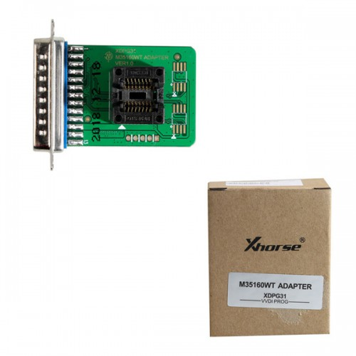 Xhorse M35160WT(XDPG31CH) adapter Work with VVDI Prog