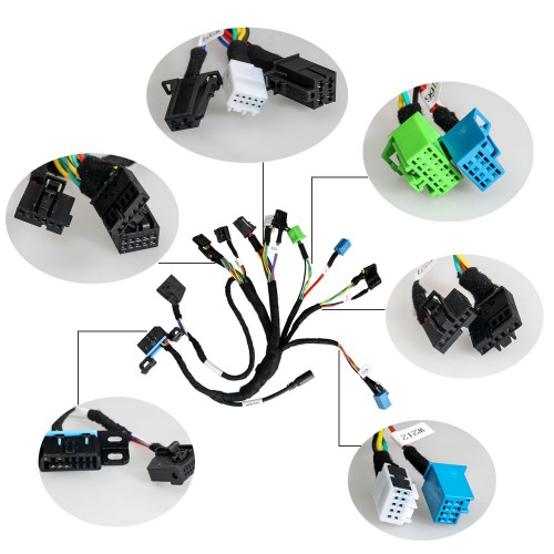 For BENZ EIS/ESL Cable+7G+ISM + Dashboard Connector MOE001 Work Together with CGDI MB