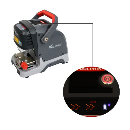 [Ship from UK/EU] V1.4.0 Xhorse Dolphin XP005 Automatic Key Cutting Machine Works on IOS & Android with Built-in Battery
