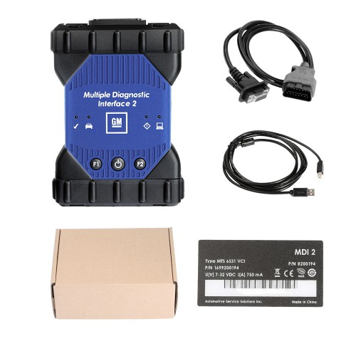 GM MDI 2 for GM Multiple Diagnostic Interface with WIFI Card