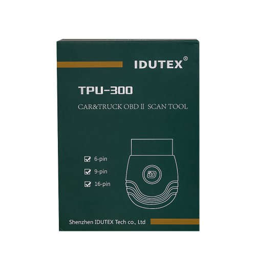 XTUNER TPU-300 OBDII scan tool Support Android System can replace XTUNER CVD-16