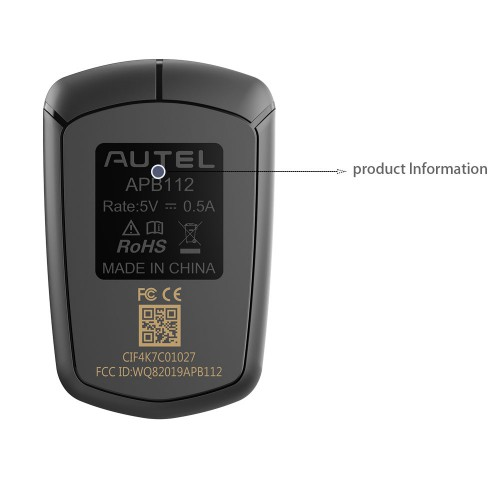 [Ship from UK] AUTEL APB112 Smart key simulator Compatible with IM608 supports to simulate the 4D type chip