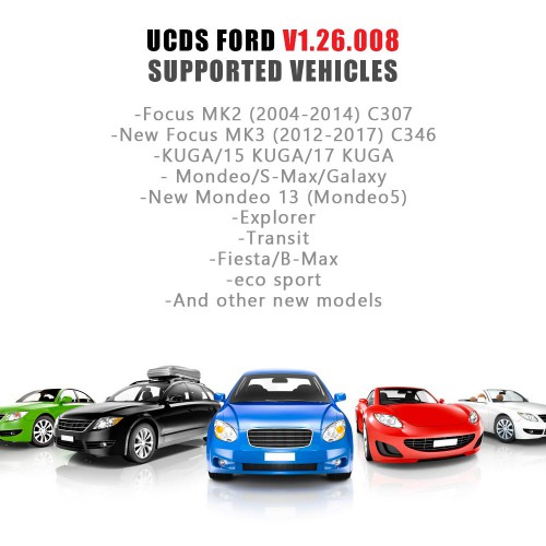 [Ship from UK] For Ford UCDS Pro+ Ford UCDSYS with UCDS V1.26.008 Full License Never Connect Internet Can Not Update