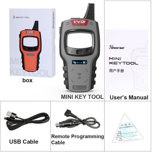 Android Global Version  Xhorse VVDI Mini Key Tool Remote Key Programmer Support IOS and Android
