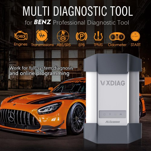 Vxdiag C6 Professional star c6 diagnostic tool For Benz with Xentry 09/2019 software