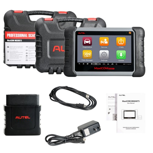 [Ship from UK/EU] 100% Original Autel MaxiCOM MK808TS Auto TPMS Relearn Tool Universal Tire Sensor Activation Pressure Monitor Reset Scanner