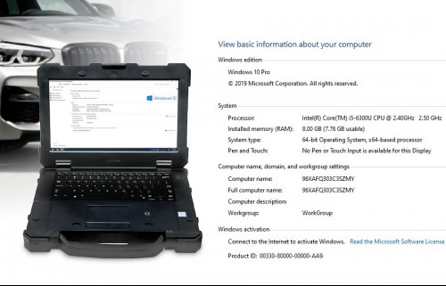 Panasonic DELL 7414 Laptop With the touch (No HDD included)