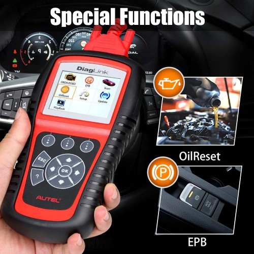 [Ship from UK/EU] AUTEL Diaglink OBD2 Scanner All System Car Diagnostic Tool