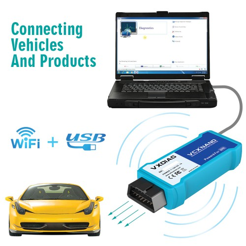 [Ship from UK/EU] WIFI Version VXDIAG VCX NANO GDS2 and TIS2WEB Diagnostic/Programming System for GM/Opel Better than MDI