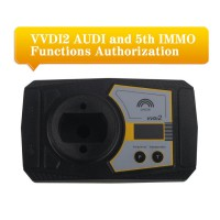 Xhorse VVDI2 AUDI and 5th IMMO Functions Authorization Service