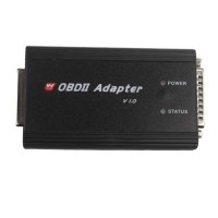 Yanhua OBD II Adapter Plus OBD cable Works with CKM100 and DIGIMASTER III for Key Programming