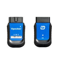 VPECKER E4 Phone Easydiag Bluetooth Full System OBDII Scaner for Android Support ABS Bleeding/Battery/DPF/EPB/Injector/Oil Reset/TPMS