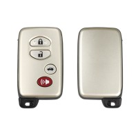 Toyota smart key shell 3+1 button