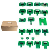Best Price LED BDM Frame 22 sets of adapters for KESS KTAG