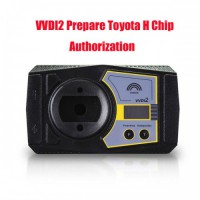 Authorization Prepare Toyota H Chip for Xhorse VVDI2