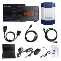 (Promo) Full Brands VXDIAG Multi Diagnostic Tool for HONDA/GM/VW/FORD/MAZDA/TOYOTA/PIWIS/Subaru/VOLVO/ BMW/BENZ with 1TB HDD & Lenovo T420