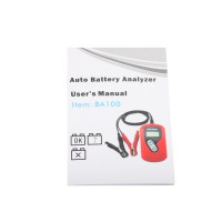 (Free Shipping No Tax) BA100 Vehicle Battery Analyzer