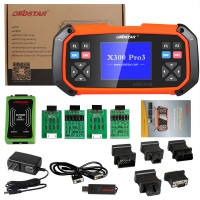 (Snip from UK) Original OBDSTAR X300 PRO3 Key Master Standard Configuration Immobiliser+Odometer adjustment +EEPROM/PIC+OBDII