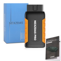 (Ship from UK)Humzor NexzDAS Pro Full-system OBD2 Code Reader with Diagnosis Reset Service and key programming Function