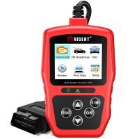 [Ship from UK/EU] Original Vident V301 Multi-System Scanner OBDII/EOBD+CAN Code Reader for VW/Audi/Skoda/Seat