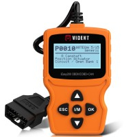 (Ship from UK/EU) VIDENT iEasy200 OBDII/EOBD+CAN Code Reader for Vehicle Checking Engine Light