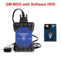 Installed GM MDI 2 Multiple Diagnostic Interface with WIFI Card with V2020.9 GDS2 Tech2Win Software Sata HDD
