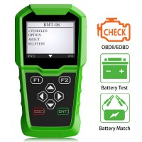 Obdstar BMT-08 BMT 08 12V/24V Automotive Battery Tester and Battery Matching Tool OBD2 Battery Configuration