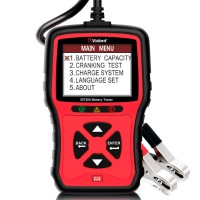 [Ship from UK/EU] VIDENT iBT200 9V-36V Battery Tester for 12V passenger vehicle and 24V heavy duty trucks 100 to 2000CCA Car Battery Analyzer