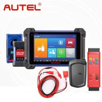 [UK/EU Ship] Autel MaxiIM IM608 Key Programmer with APB112 Smart Key Simulator G-BOX2 Adapter and Toyota 8A Non-Smart Key All Keys Lost Adapter